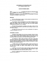 OATH OF UNDERTAKING for GSED