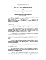 OATH OF UNDERTAKING for nonGSED