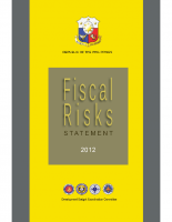 2012 Fiscal Risks Statement